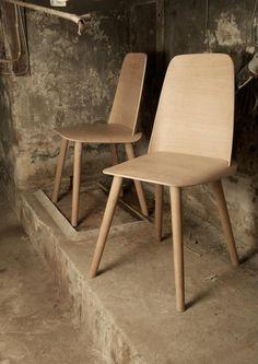 Muuto #wooden #chairs http://decdesignecasa.blogspot.it