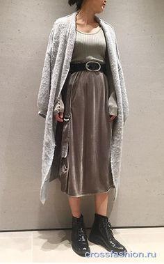 Одна вещь несколько образов: идеи сочетаний с бархатной юбкой