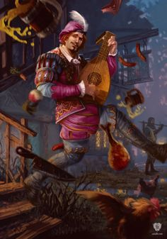 Dandelion - Witcher 3  https://www.facebook.com/Gamers-Interest-188181998317382/