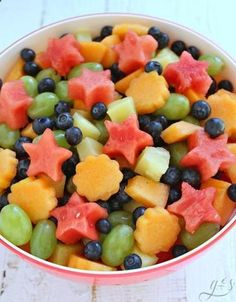 Fruit salad can brighten up any day especially during spring and summer! Make your fruit salad extra special by ditching that can of fruit cocktail and using an
