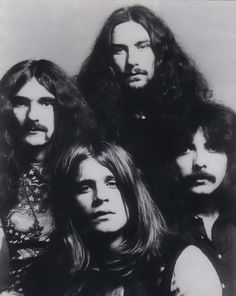 Black Sabbath - the godfathers of Heavy Metal Ozzy Osbourne, Black Sabbath, Bruce Dickinson, Heavy Metal Music, Heavy Metal Bands, Rock & Pop, Rock And Roll, Pop Punk, Tony Iommi