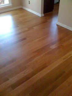 Stain layering part 2 base coat applied general for Hardwood floors 60 minutes