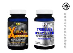 X-BAL FAST MUSCLE BUILDER FORMULA & TRIBULUS - MUCH BETTER RESULTS THEN ANADROL  #CRAZYBULKWEB5thElementV