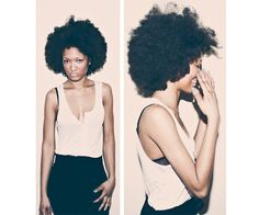 "Natural Beauty: Photographer Glenford Nunez Shoots Black Women's Natural Hair for ""The Coiffure Project"" 