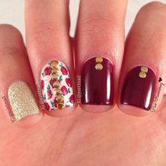 Nails vino vintage