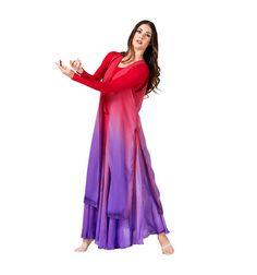 WC103 Worship Tie Front Long Tunic. $27.00
