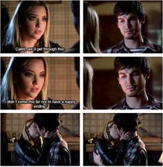 "Pretty Little Liars Season 5 Episode 11 #5x11 ""No One Here Can Love or Understand Me"" #Haleb"