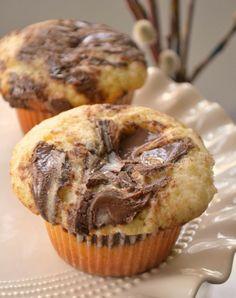 Nutella cupcakes @Tessa de Jong @Iris van den Braak-Marcelis deze bedoel ik dames :)