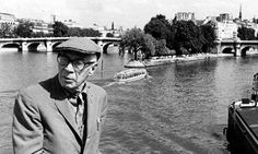 Henry Miller on a return visit to Paris, where he had lived with Anaïs Nin in the 1930s. Photograph: Everett Collection / Rex Feature
