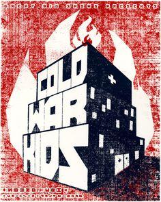 GigPosters.com - Cold War Kids - Sound Team