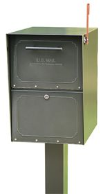 Residential Medium Oasis Mailboxes Standard Post