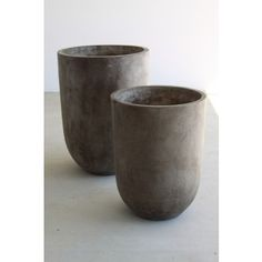 Mosarte - Alfresco Pot Tall Round Light Weight