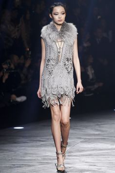 Roberto Cavalli A/W14 @ Milan Fashion Week
