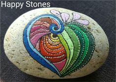 #HappyStones #MaledeSten #Sten #Stone #Rocks #Kreativ #Sten kunst #Kunst #Stoneart #Art #Molotow #Posca