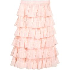 Volangkjol 499 (€54) ❤ liked on Polyvore featuring skirts