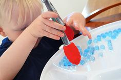 Six Simple Fine Motor Activities - six easy and fun activities to develop small muscles