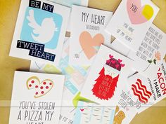 Printable HILARIOUS Valentine's Day Cards from thedatingdivas.com
