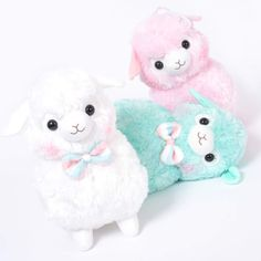 Alpacasso Kids Fuwamoko Ribbon Alpaca Plush Collection (Big) 1