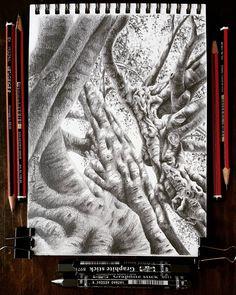 Lidia Barragán. #sketch #tree #drawing #dibujo #arbol