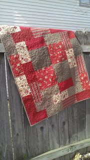 A gypsy and a french general quilt