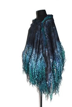 Felted Scarf Wrap Fur Free | Flickr - Photo Sharing!