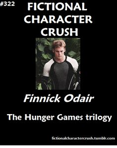 #322 - Finnick Odair from The Hunger Games trilogy 09/12/2012