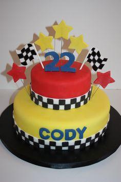 race car birthday cakes  In: Race Car Cake in album: Birthday Cakes