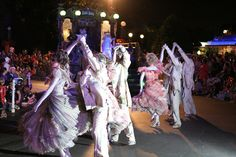 Haunted Mansion Dancers in Halloween Parade