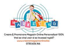 Creare, Promovare & Administrare Magazin Online