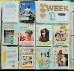 I ♥ the Kraft Hearts, Corrugated Cardboard Letters, Chevron Backgrounds, Soft Colors, Etc. by Miriam Rodriguez