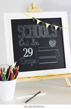 Countdown to Summer and the Last Day of School | @kimbyers