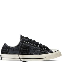 More subtle- still beautiful Converse All Star Chuck '70 Andy Warhol blac