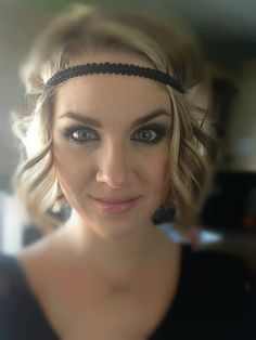 Many Colors Available Boho Forehead Headband by AliceInBloom, $6.00