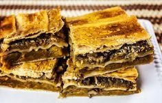 Placinta cu dovleac si nuca Romanian Food, Spanakopita, Deserts, Ethnic Recipes, Postres, Dessert, Desserts