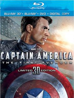 Captain America: The First Avenger (Blu-ray 3D   Blu-ray   DVD   Digital Copy) - Movies / Action/Adventure/Sci-Fi / BluRay