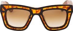 Ksubi - Tortoiseshell Outline Skeleton Sunglasses