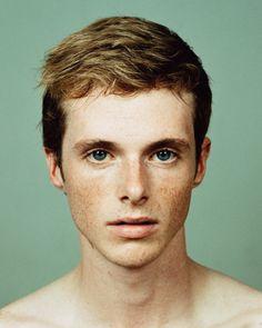 #freckles #shorthair #brownhair #man #male #character