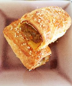 Healthy Homemade Sausage Rolls - replace bbq sauce with Worcestershire sauce