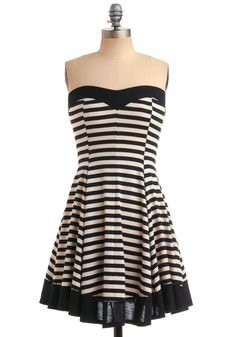 The Time is Stripe Dress