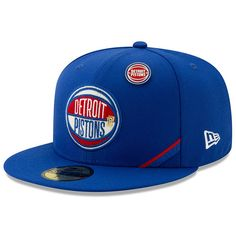 save off a4421 b0613 Detroit Pistons New Era 2019 NBA Draft 59FIFTY Fitted Hat - Royal, Your  Price