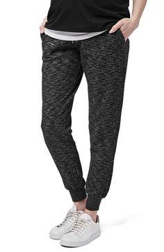 Topshop 'Jonas' Marled Maternity Jogger Pants available at #Nordstrom