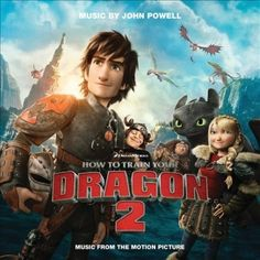 The soundtrack CD for HTTYD2!