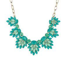 Turquoise Blue and Mint Cluster Statement Necklace Reeds http://www.amazon.com/dp/B00LT31RRM/ref=cm_sw_r_pi_dp_B1Wbub0GAF3ZR