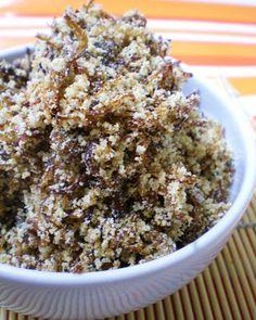 Farofinha de Carne Desfiada | Figos & Funghis