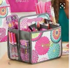 Double Duty Caddy Thirty-One fill with baby essentials !