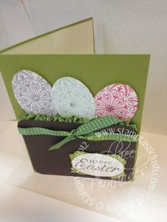 Stampin Up Easter Cards