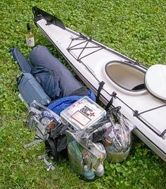 Packing a Kayak for camping