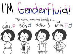 To my mom who I hope will see this This is me I am genderfluid