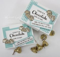 Chocolate Videos, Chocolate Card, Chocolate Wrapping, Dawns Stamping Thoughts, Stamping Up, Coffee Cards, Stampin Up Catalog, Craft Fairs, Cards