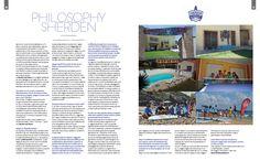 Philosophy Sherden - Intervista Andrea Bianchi. Foto Sherden Surf House. Pag. 66-67